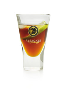 Absacker of Germany - Glas mit Kräuterlikör